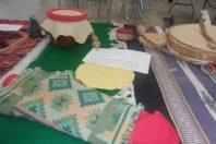 Tambours et crécelles. Crédit photo : Liberia L'Archer
